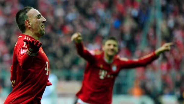 Auch mit Schema F gewinnen die Bayern