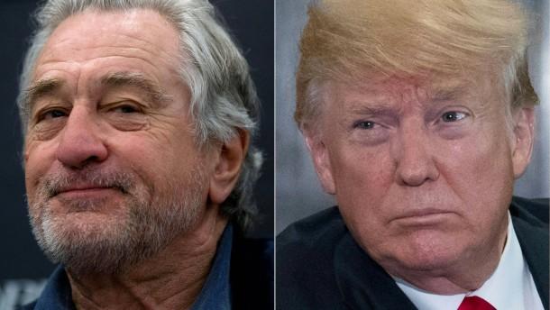 Trump keilt zurück gegen Robert de Niro