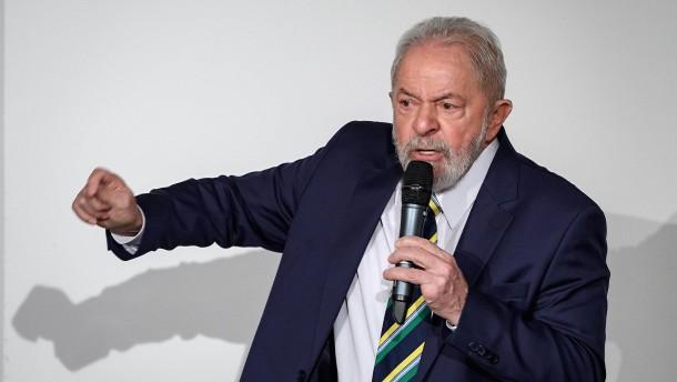 "Lula warnt vor ""Völkermord"" in Brasilien"
