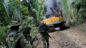 Brasilien setzt die Armee im Regenwald ein