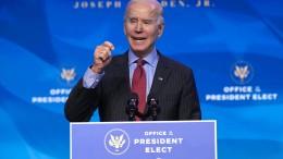 Biden hat keine Angst vor Amtseinführung im Freien