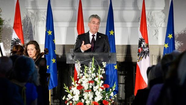 Österreichs holpriges Gedenken