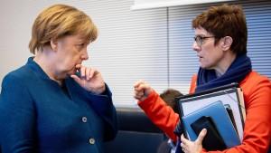 Die schwierige Lage der CDU