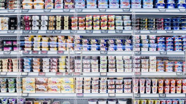 Joghurt wegen Metallteilen zurückgerufen