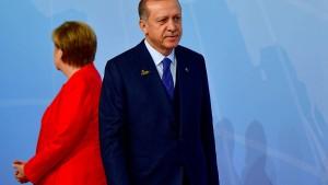 Kante zeigen in der Türkei