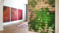 Blind Sport: Die Kunst des Sehens mit einem Werk von Horst Keinig.