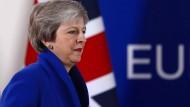Theresa May gibt sich eine Woche vor der entscheidenden Abstimmung zuversichtlich – zu Recht?