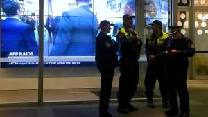 Debatte über Pressefreiheit in Australien entflammt