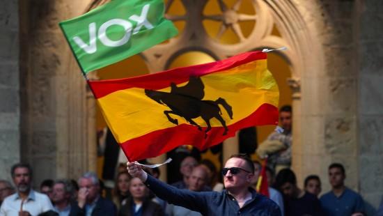 Rechtsextreme Partei Vox mischt Spanien auf