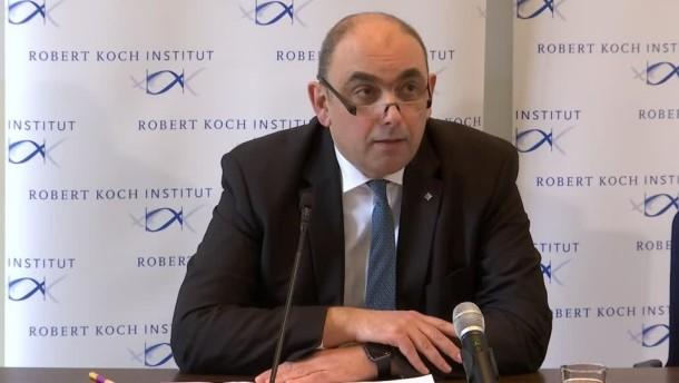 Robert-Koch-Institut über neueste Corona-Entwicklungen