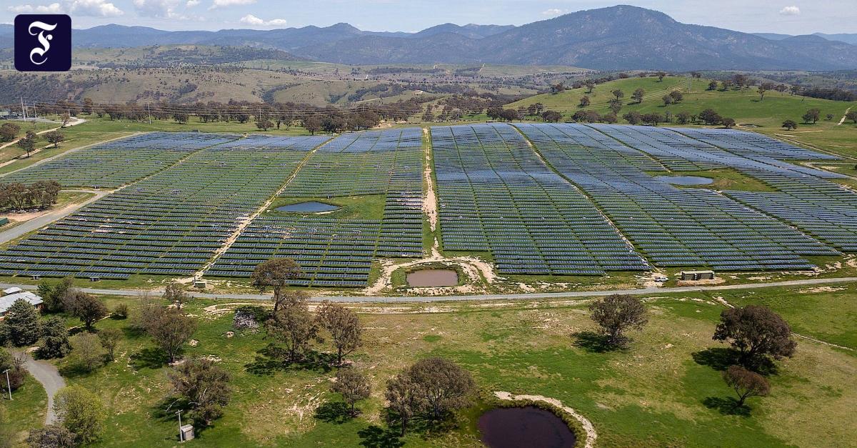 Ambitionierte Milliardäre: Sonnenstrom für Asien aus Australiens Wüste