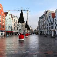 Rostock hat die geringste Corona-Inzidenz unter den Großstädten in der Bundesrepublik, nur 45 wöchentliche Neuinfektionen auf 100.000 Einwohner.