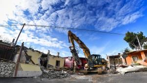 Acht Villen der Casamonica abgerissen