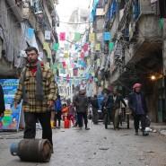 So gut wie nie herrscht in Aleppo noch so etwas wie Alltag