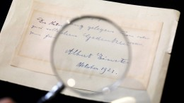 Einsteins Brief an eine Studentin