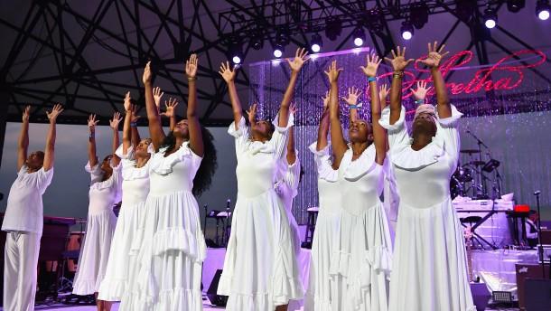 Großes Abschiedskonzert für Aretha Franklin