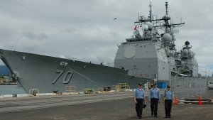 China verweigert amerikanischen Kriegsschiffen Einfahrt