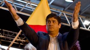 Neuer Präsident in Costa Rica ruft zur Versöhnung auf