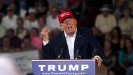 The Donald zieht davon
