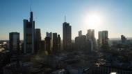 70.000 Beschäftigte in der Finanzbranche: Frankfurt mit der Skyline