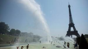 """Alarmstufe """"Rot"""" wegen Hitze in Frankreich"""