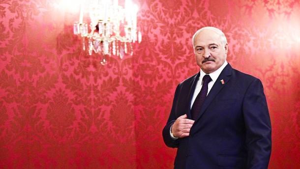 Großbritannien und Kanada verhängen Sanktionen gegen Lukaschenka