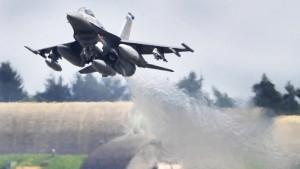 Amerikanischer Kampfjet stürzt bei Trier in den Wald