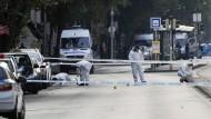Explosion im Zentrum von Budapest