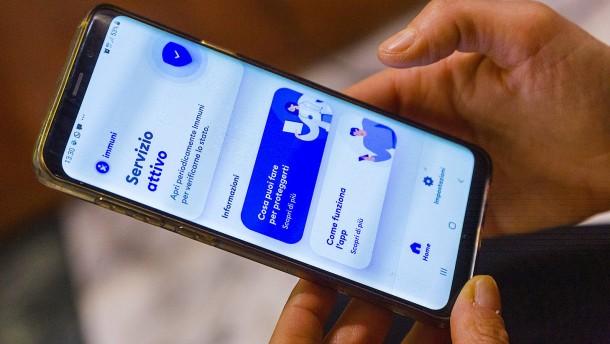 Warum die italienische Corona-App ein Flop ist
