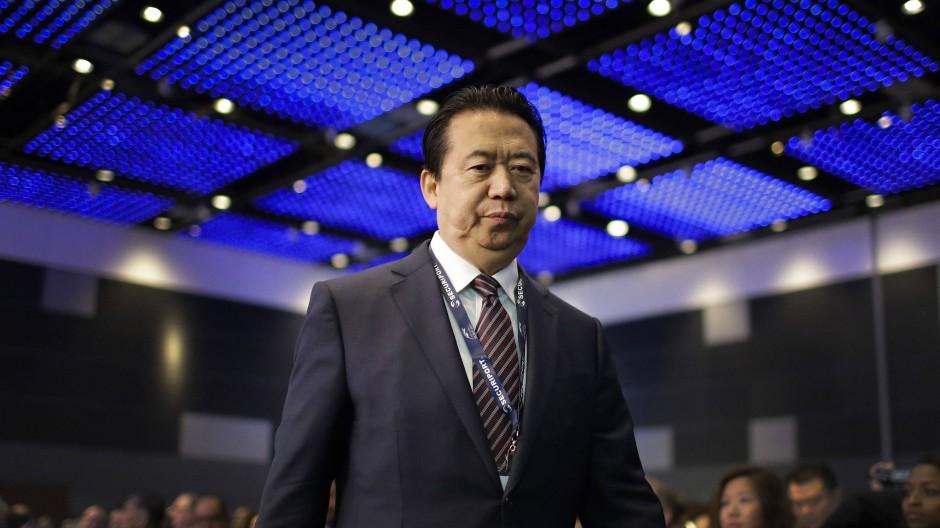 China ermittelt gegen Meng Hongwei
