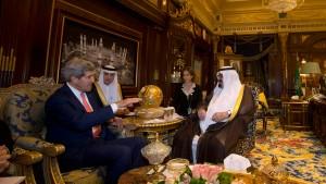 Kerry auf Versöhnungsreise in Saudi-Arabien