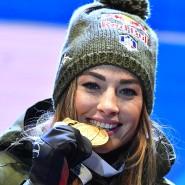 Das Gesicht des italienischen Biathlon: Dorothea Wierer feiert ihren WM-Titel im Einzel über 15 Kilometer