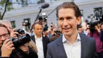Ohne ihn geht nichts mehr in Österreich: Sebastian Kurz am Sonntag in Wien