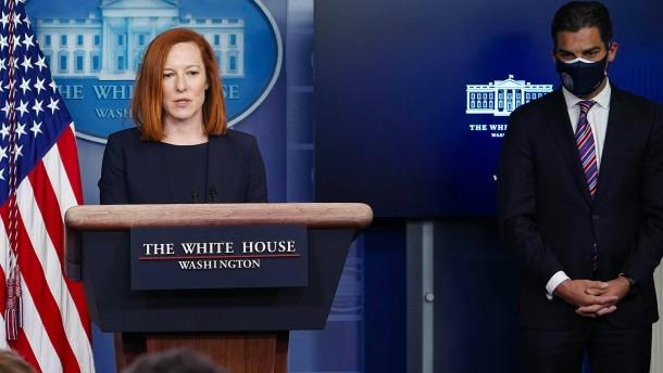 Biden-Sprecher verlässt das Weiße Haus