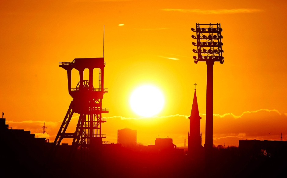 Tief im Westen, wo die Sonne verstaubt: Im Ruhrgebiet geht es für die SPD um alles.