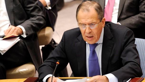 Moskau erhebt schwere Vorwürfe gegen den Westen