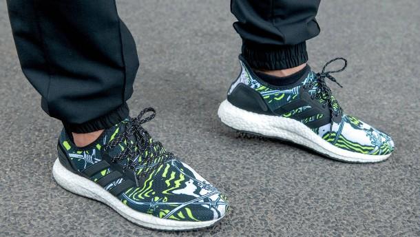 Schaut auf diesen Schuh!
