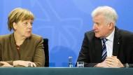 Was haben sich Angela Merkel und Horst Seehofer noch zu sagen?