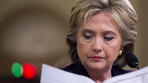 Clintons eigenes Wahlkampfteam verzweifelte an ihr