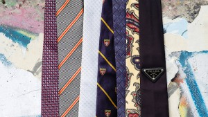 Die Zukunft der Krawatte hängt am seidenen Faden
