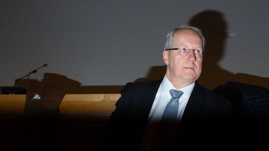 Stefan Schostok am Dienstag im Landgericht
