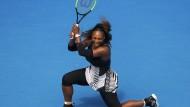 Serena Williams zieht ins Viertelfinale ein