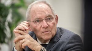 Schäuble neuer Bundestagspräsident?