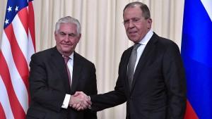 Amerika will mit Russland über Flugverbotszonen reden