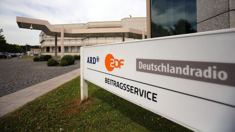 Hier werden die Gebührenmilliarden eingesammelt: Gebäude des Beitragsservice von ARD und ZDF