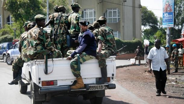 Rebellen des M 23 uneins über Rückzug aus Goma
