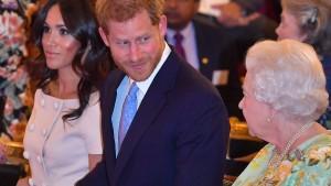 Harry und Meghan feiern Weihnachten nicht mit der Queen