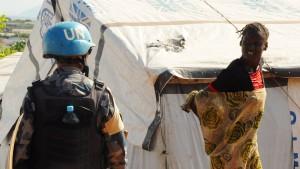 UN-Bericht: Blauhelme sahen bei Vergewaltigungen einfach weg