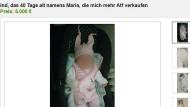 Baby stand im Internet zum Verkauf