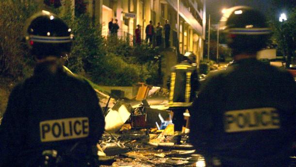 Straßenschlachten in Paris